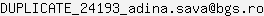 E-mail AMBULANTA BGS MEDICAL UNIT